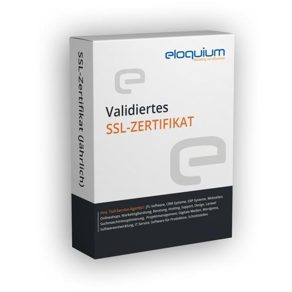 Validiertes SSL-Zertifikat (jährlich)
